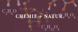 chemie und natur  banner schrift