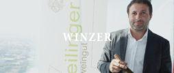 winzer   banner schrift